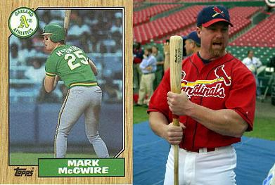 Mark Mcgwire Before And After Can you get brock lesn...